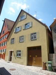 Altstadthaus Koppengasse Dinkelsbühl