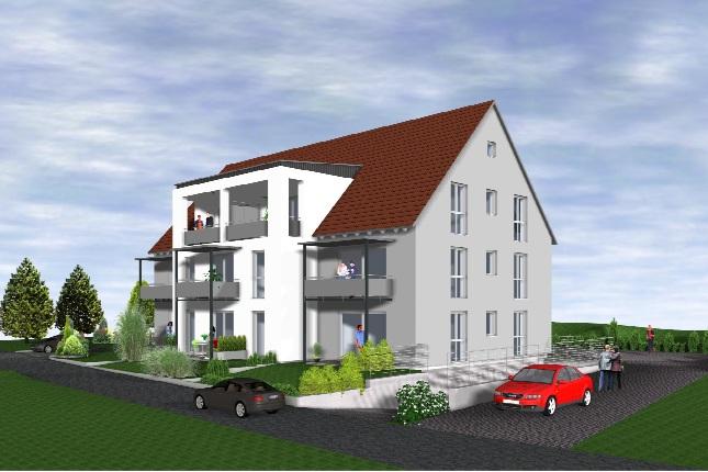 Neu im Verkauf: 8 Wohneinheiten ( Neubau ) in Feuchtwangen