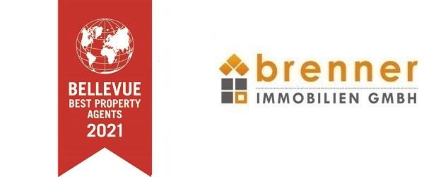 brenner immo: Auszeichnung zum Bellevue Best Property Agent 2021