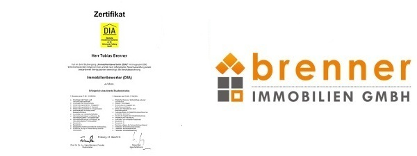 Tobias Brenner ist Immobilienbewerter ( DIA )