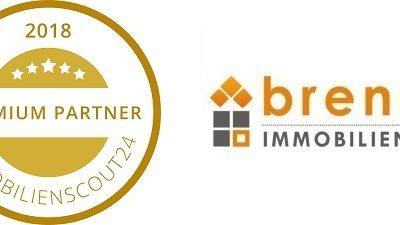 Immobilienscout Premium – Partner 2018