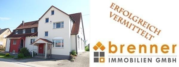 Erfolgreich vermittelt: 3-Familienhaus in 73499 Wört / Ostalbkreis