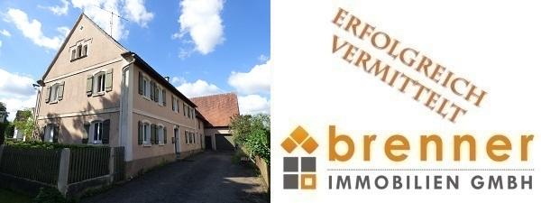 Erfolgreich vermittelt: Ehemaliges landwirtschaftliches Anwesen mit 2 Wohneinheiten in 91744 Weiltingen / Mittelfranken