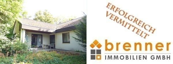 Erfolgreich vermittelt: Einfamilienhaus im Bungalow-Stil in Top-Wohnlage von 91550 Dinkelsbühl / Südhang