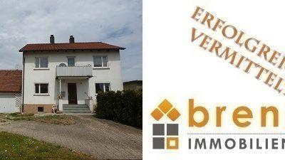 Erfolgreich vermittelt: Interessantes Ein- / Zweifamilienhaus ( renovierungsbedürftig ) in 91602 Dürrwangen – Halsbach
