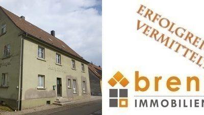 Erfolgreich vermittelt: Renovierungsbedürftiges Wohnhaus in 91626 Schopfloch / Mittelfranken