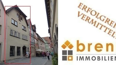 Erfolgreich vermittelt: Wohn- und Geschäftshaus unter Denkmalschutz in 91541 Rothenburg / Tauber