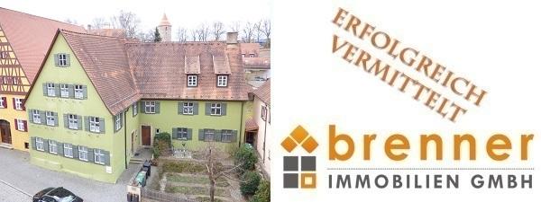 Erfolgreich vermittelt: Wohn- und Geschäftshaus in 91550 Dinkelsbühl / Mittelfranken ( Altstadt )