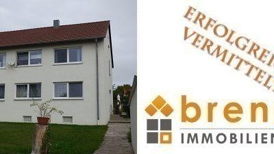 Erfolgreich vermittelt: Zweifamilienhaus in 91550 Dinkelsbühl / Am Hochweg