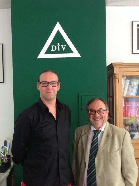 Tobias Brenner beim DIV