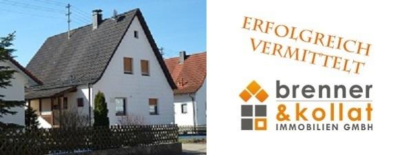 Erfolgreich verkauft: Einfamilienhaus Tannhausen