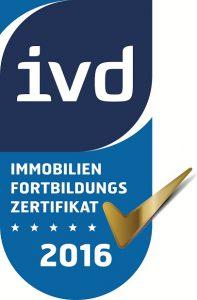 IVD_Immobilien - Fortbildungszertifikat