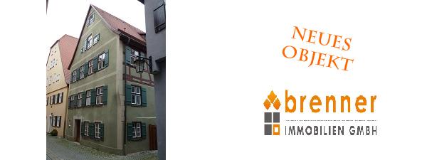 Neue Immobilie: Eigentumswohnung in Dinkelsbühl – Altstadt mit Balkon