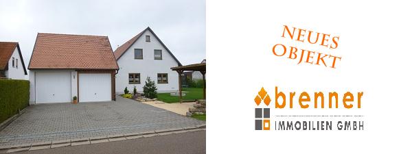 Neues Objekt: Einfamilienhaus in Illenschwang