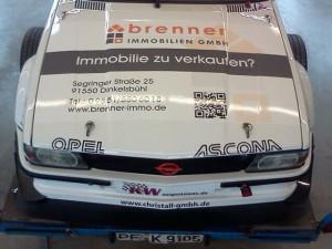 Johann Hatezic Ascona Bergrennen