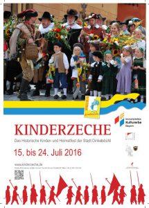 Kinderzeche Dinkelsbühl 2016
