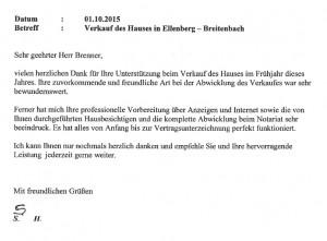 Referenz Verkauf Ellenberg