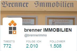 Über 1500 Follower bei Twitter