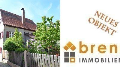 Neu im Verkauf: Historisches Altstadthaus mit kleinem Garten in 91550 Dinkelsbühl / Mittelfranken