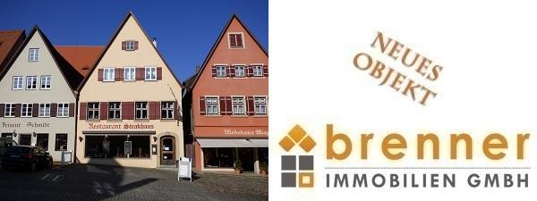 Neu im Verkauf 91550 Dinkelsbühl- Altstadt: Wohn- und Geschäftshaus