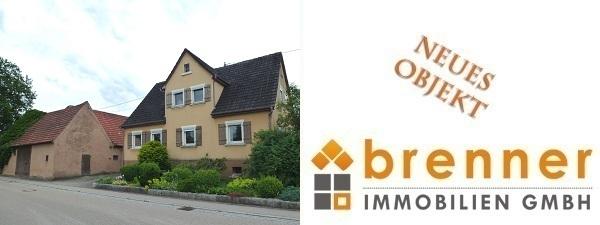 Neu im Verkauf: Althofstelle in Ortsrandlage von 73499 Wört
