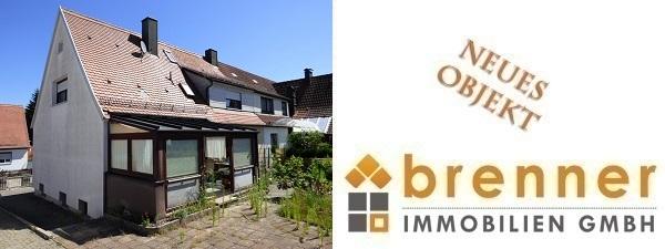Neu im Verkauf: Renovierungsbedürftige Doppelhaushälfte in 91550 Dinkelsbühl