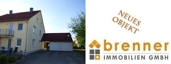 Neu im Verkauf: Gepflegte Doppelhaushälfte in 91555 Feuchtwangen