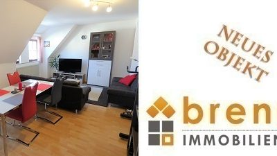 Neu im Verkauf: 2-Zimmer – Dachgeschoss – Wohnung vor den Toren der Altstadt von 91550 Dinkelsbühl
