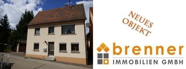 Neu im Verkauf: Sanierungsbedürftiges Haus in Wört / Ostalbkreis