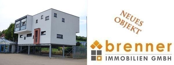 Neu im Verkauf: Bopfingen – Bürogebäude mit Hallen- / Lagerkomplex