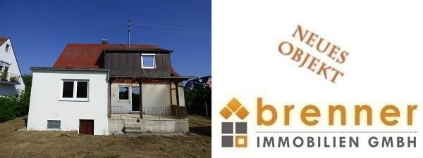Neu im Verkauf: Kleines, renovierungsbedürftiges Einfamilienhaus in Oettingen i.Bay.