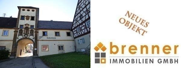 Neu im Verkauf: Ehemalige Klosterschenke – Denkmalgeschütztes, renovierungsbedürftiges Objekt in 73467 Kirchheim am Ries