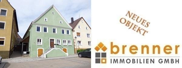 Neu im Verkauf: Wohn- und Geschäftshaus unter Denkmalschutz in 91744 Weiltingen / Mittelfranken