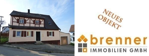 Neu im Verkauf: Renovierungsbedürftiges Wohnhaus in 91626 Schopfloch