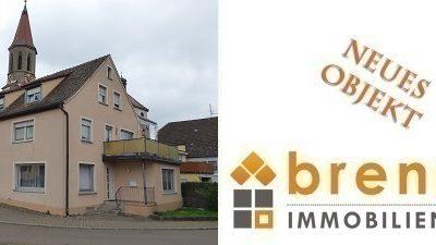 Neu im Verkauf: Wohn- und Geschäftshaus, 91632 Wieseth / Mittelfranken