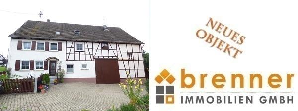 Neu im Verkauf: Zweifamilienhaus mit Scheune in 74579 Fichtenau – Oberdeufstetten