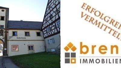 Erfolgreich vermittelt: Ehemalige Klosterschenke – Denkmalgeschütztes, renovierungsbedürftiges Objekt in 73467 Kirchheim am Ries