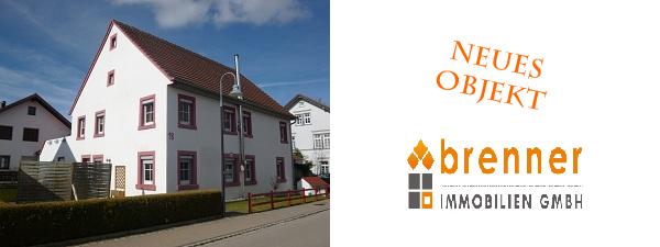 Neues Objekt: Ein- bis Zweifamilienhaus in Lauchheim
