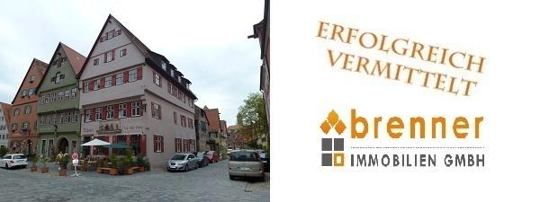 Erfolgreich verkauft: Eigentumswohnung in der Altstadt von Dinkelsbühl