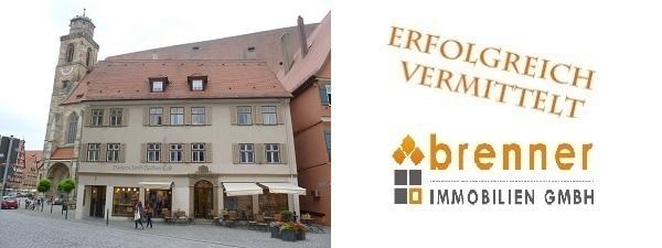Erfolgreich verkauft: Wohn- und Geschäftshaus in Dinkelsbühl