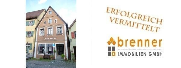 Erfolgreich beurkundet: Wohn- und Geschäftshaus in Dinkelsbühl