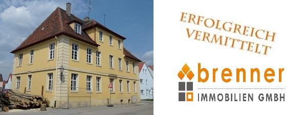 Erfolgreich verkauft: Schulhaus in Wassertrüdingen