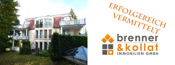 Erfolgreich vermittelt: Barrierefreie 2-Zimmer – Eigentumswohnung in villenartigem 8-Familienhaus