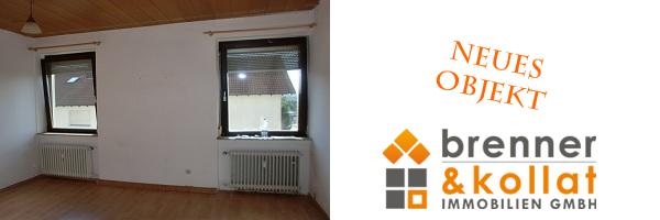 Neues Mietobjekt: 2-Zimmer Obergeschoss – Wohnung in 73431 Aalen – Pelzwasen