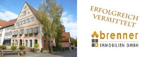 Erfolgreich verkauft: Wohn- und Geschäftshaus in Dinkelsbühl – Altstadt