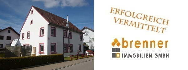 Erfolgreich verkauft: Ein- / Zweifamilienhaus in Lauchheim