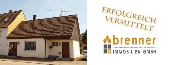 Erfolgreich vermittelt: Kleines Einfamilienhaus in Regelsweiler