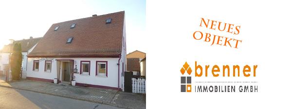 Neues Objekt: Kleines Einfamilienhaus, 91626 Schopfloch