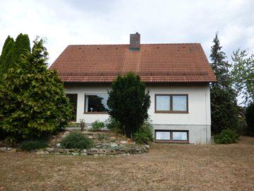 Gepflegtes Einfamilienhaus mit teil-ausgebautem Dachgeschoss und neuer Heizung, 91637 Wörnitz, Einfamilienhaus