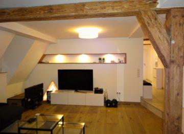 **Hochwertige 2-Zimmer-Wohnung in der Dinkelsbühler Altstadt** ab 01.03.2019, 91550 Dinkelsbühl, Etagenwohnung
